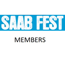 SaabFest Members Saturday Pass